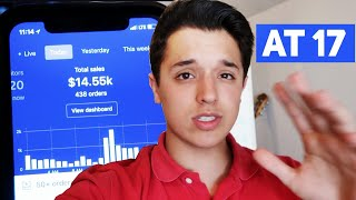 How I Made $15k In A Day Dropshipping At 17 Years Old