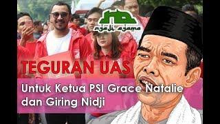 Teguran Keras ust Abdul Shomad untuk Grace Natalie Ketua PSI @ Ngaji Agama 15 thumbnail