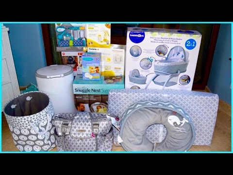 BABY BOY STUFF HAUL & TOP 5 FAVORITE BABY SHOWER GIFTS ...