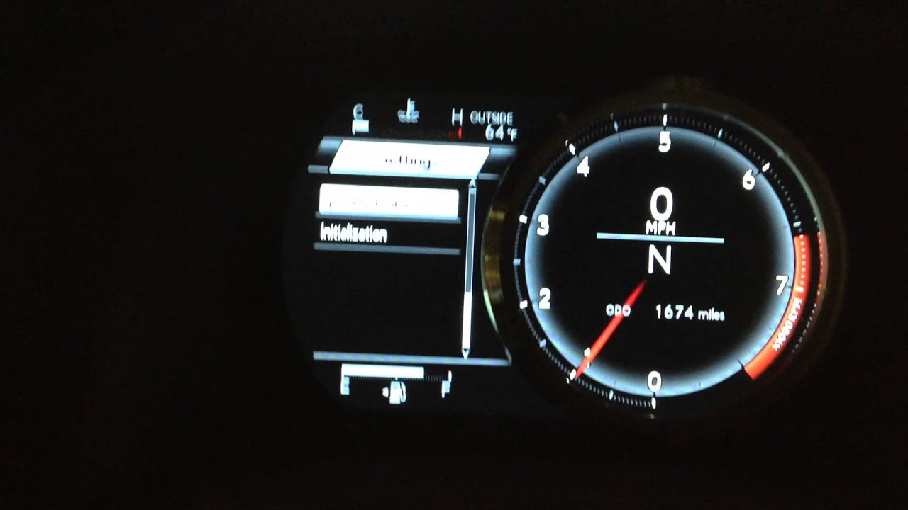 2014 2015 Lexus IS250 or IS350 F Sport maintained light reset