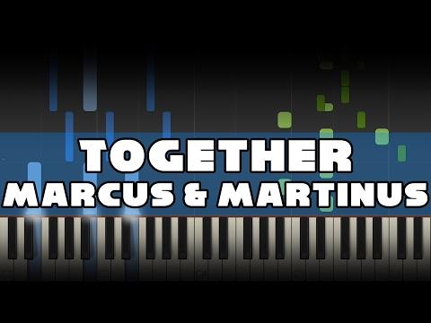 Marcus & Martinus - Together - Piano tutorial