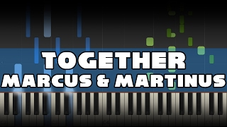 Marcus & Martinus - Together - Piano tutorial