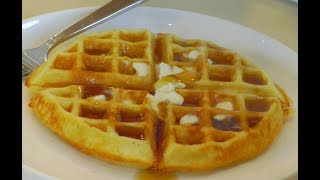 The BEST Belgian Waffles ~ Homemade Waffles ~ Amy Learns to Cook