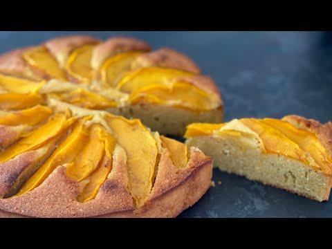 recette-tarte-mangue-amande-sans-pate-facile
