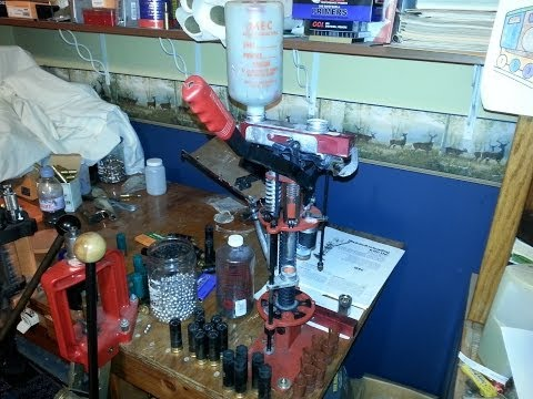 The MEC Super 600 (650N) 12 ga. reloading press and  How to use it