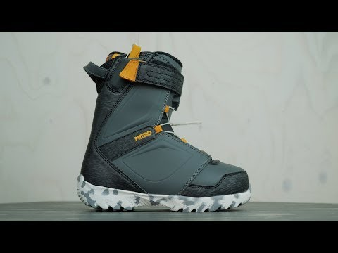 2019 Nitro Kid´s Droid Snowboard Boot Review