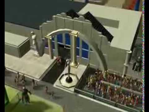 RCT3 - Justice League 3D Ride MovieWorld Gold Coast, Australia