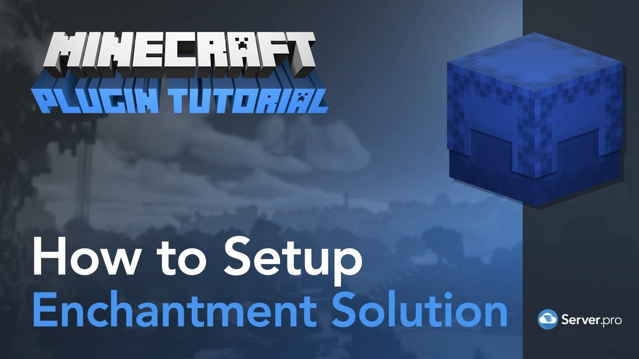 Enchantment Solution Spigotmc High Performance Minecraft