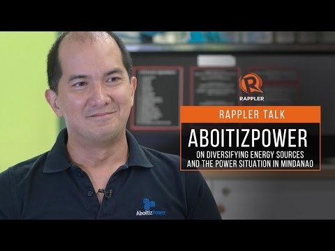 Rappler Talk: AboitizPower on diversifying energy sources and the power situation in Mindanao