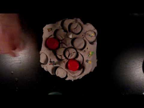 Woodwick Candle and Kinetic Sand ASMR Binaural 60FPS