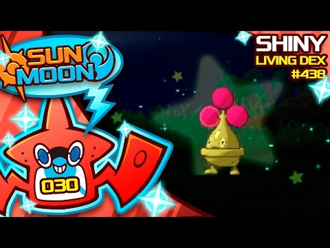 SHINY BONSLY!! SO HYPED! Quest For Shiny Living Dex #438 | Sun Moon Shiny #30