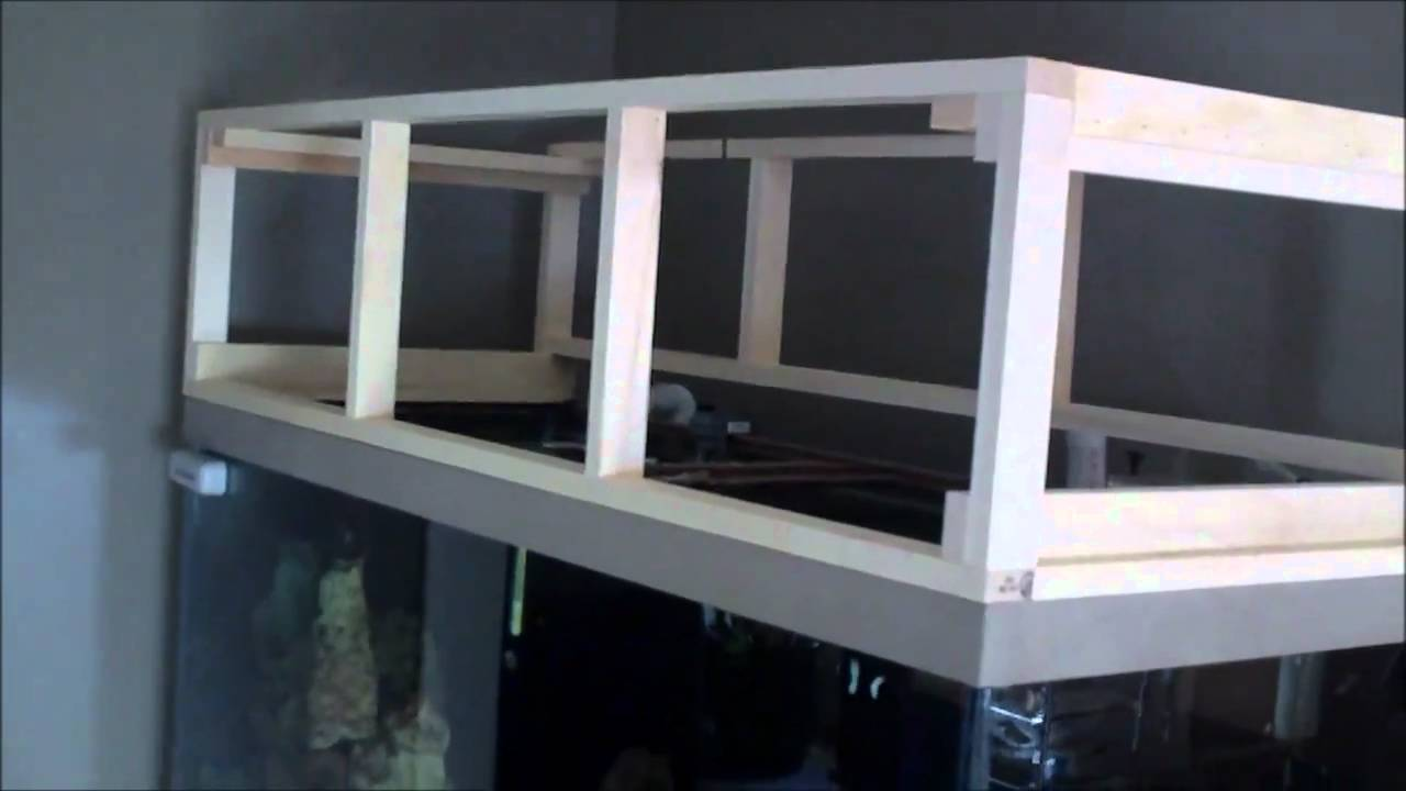& DIY Aquarium Canopy Build - Update - YouTube