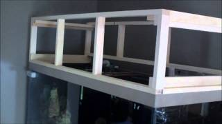 Diy Aquarium Canopy Build - Update
