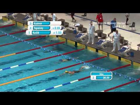 International Swim Meeting 2015 (Berlin) - WK 28   100m Freistil Männer Vorlauf