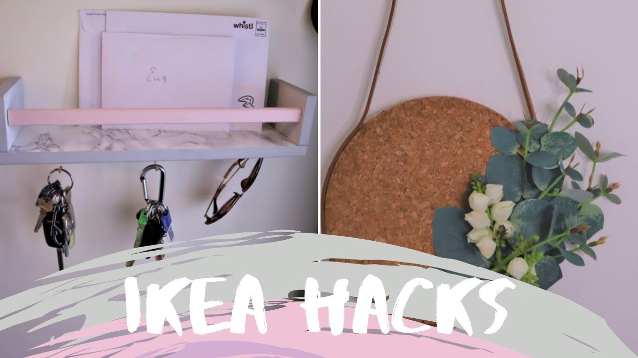 IKEA Hacks and DIY's All New Summer 2019 - Affordable Home Decor Ideas On A  Budget