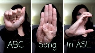 Learn the ABC Song in Sign Language!