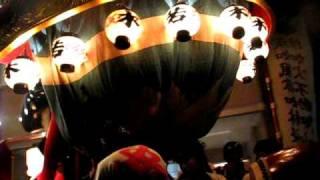 唐津くんち2008 宵山 9番曳山 武田信玄の兜 Karatsu Kunchi No11