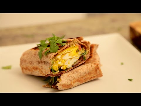 cooked how to make the ultimate breakfast burrito youtube