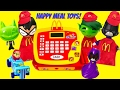 FULL SET of Teen Titans GO! Happy Meal Toys! Beast Boy Robin