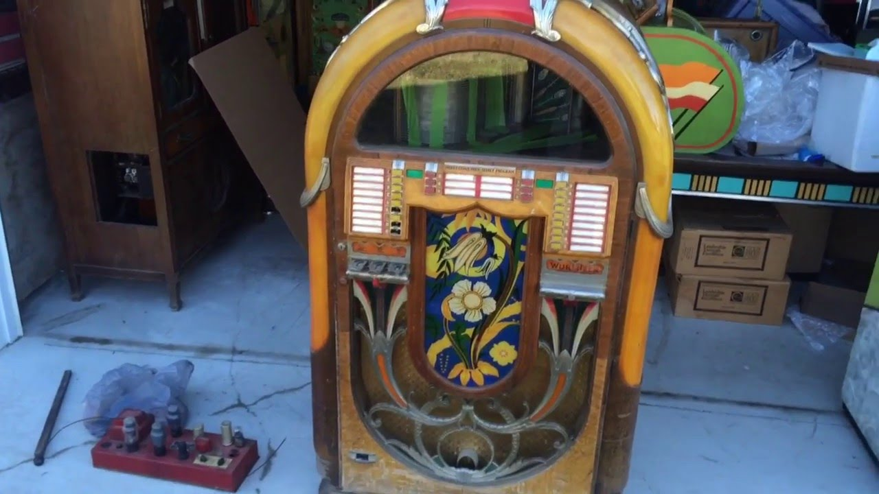 1941 Wurlitzer Jukebox Model 850A, Model 850, We Buy them