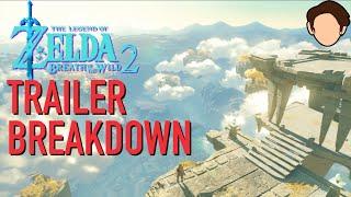 Sequel To Breath Of The Wild Trailer Breakdown / Analysis (E3 2021 teaser)