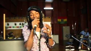 1xtra in jamaica gyptian performs number live at tuff gong studios