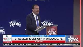 🔴 Sen. Mike Lee (R-UT) Full Speech at CPAC 2021