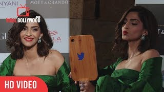 Sonam Kapoor at Vogue Women Of The Year Awards 2017 | Vogue and IWC Fashion Icon Of The Year award