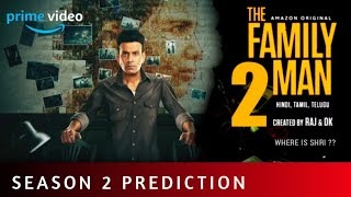 THE FAMILY MAN - Season 2    Trailer Prediction   Manoj Bajpayee   Samantha   Amazon Original Thumb