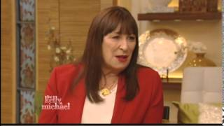 """Angelica Huston on """"Live With Kelly and Michael"""" 11/12/14"""