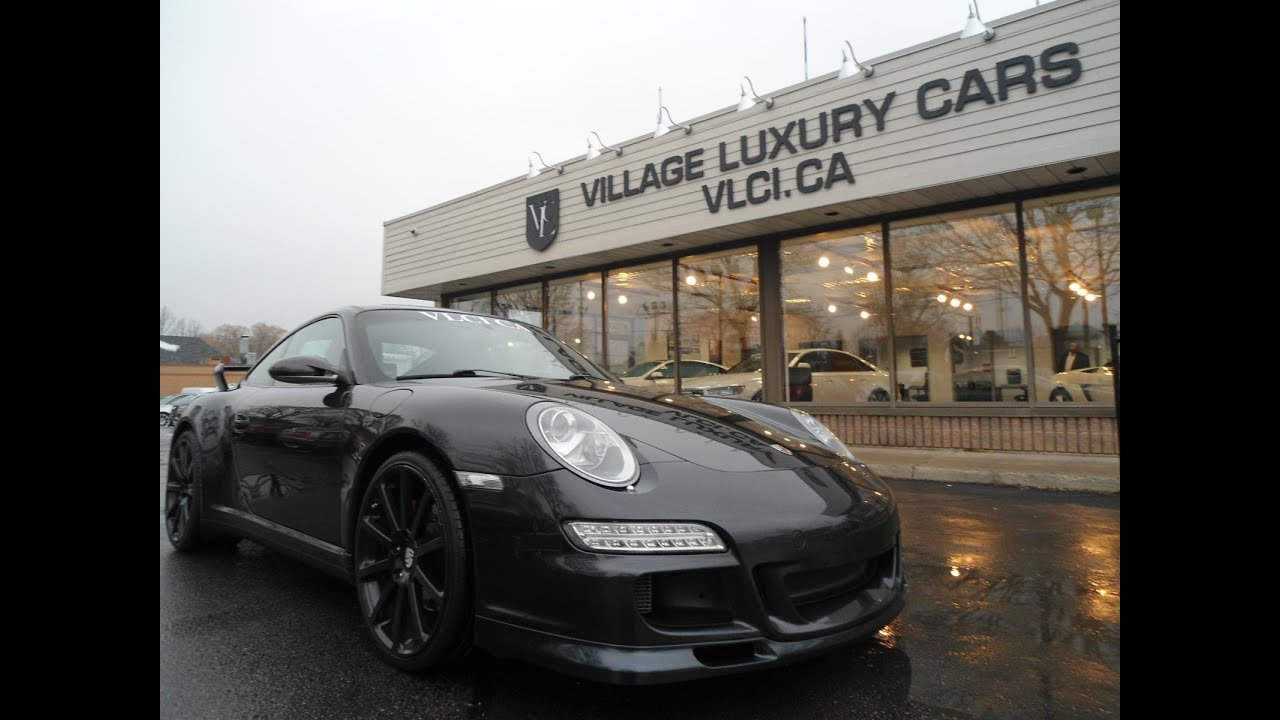 2006 Porsche 911 Carrera 4s Custom In Review Village Luxury Cars Toronto