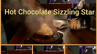 Hot Chocolate Sizzling Star With Ice-cream | Sunday Special 2019