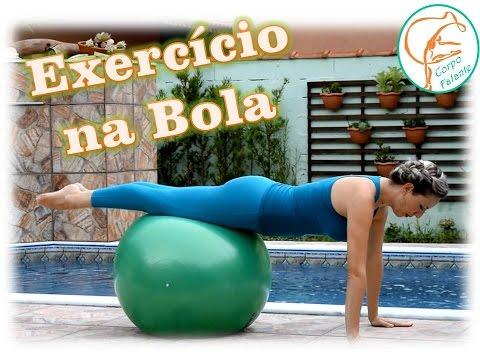 Exercício Pilates na Bola