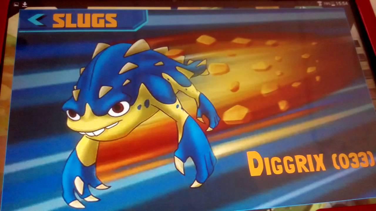 All slugs in slugterra (slugs , ghouls , fusion shots ...