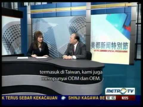 TIENS (Mr. LI JINYUAN) & METRO TV video 2