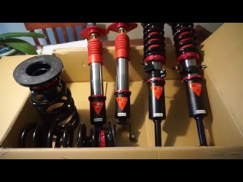 [UNBOXING] Godspeed Mono MAX Coilovers