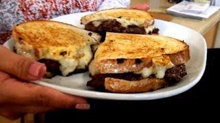 Mariah Milano's Crispy Thin Sirloin Burger Melt