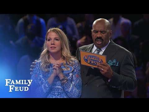 The SMITHS go for FAST MONEY! | Family Feud