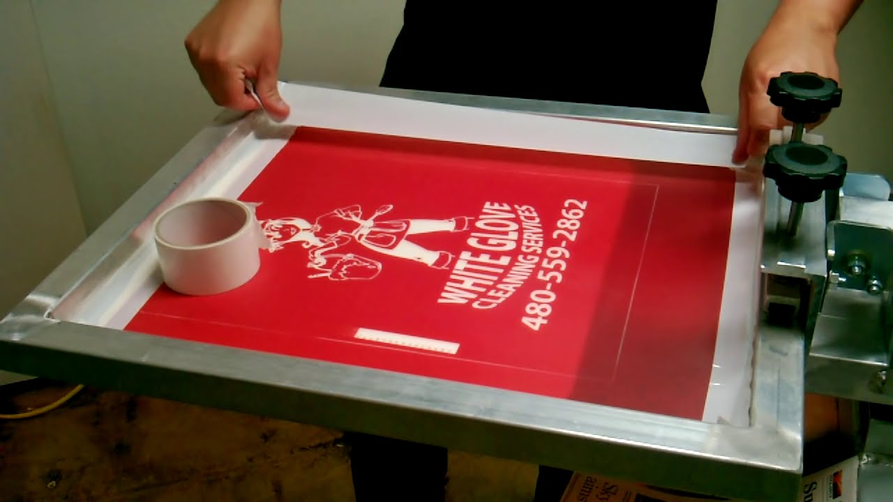 Image result for Understanding The Screen Printing Procedure