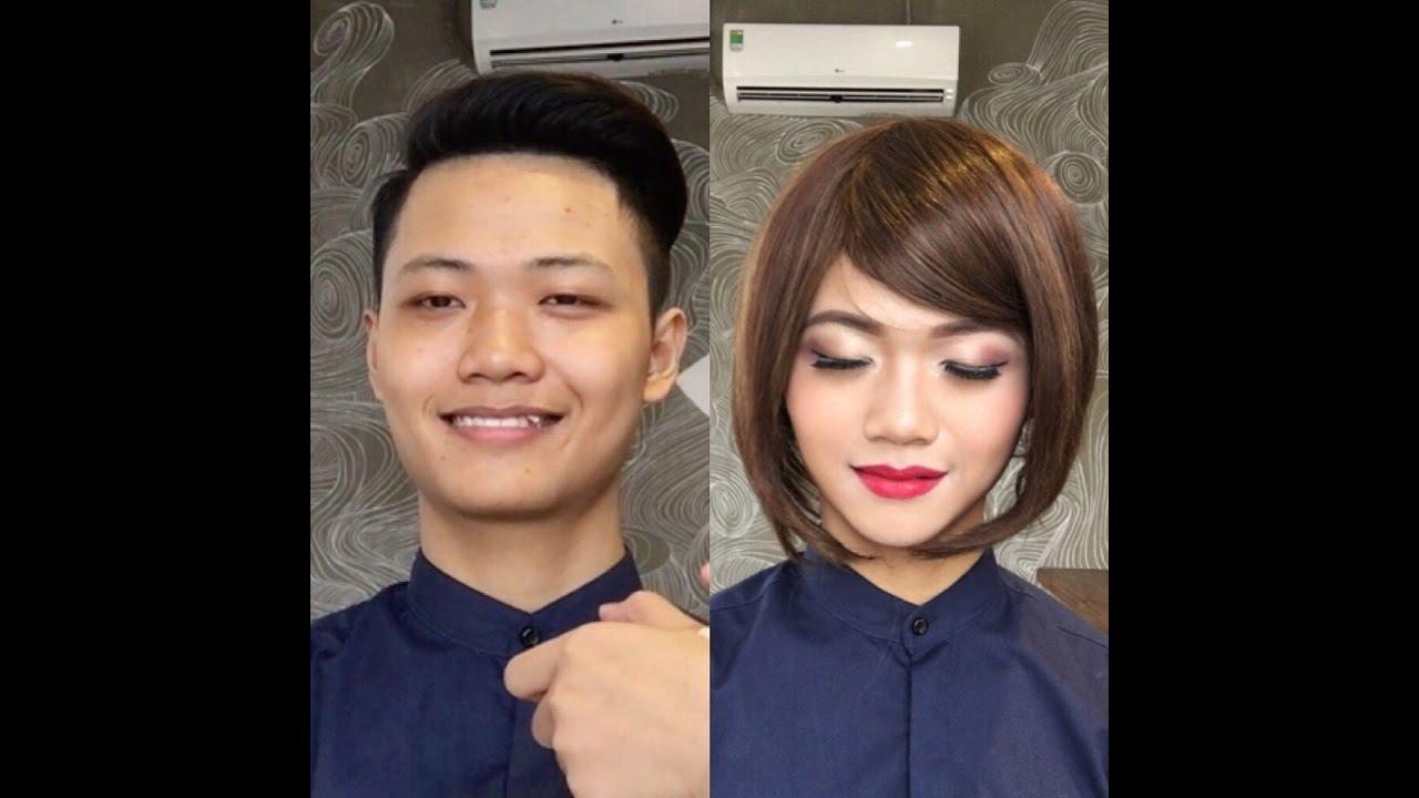 Phượng Makeup 09 – Cách trang điểm nam thành nữ
