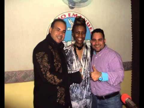 Thaïs Sherell en Radio Emanuel en la Republica Dominican con Osvaldo Torres