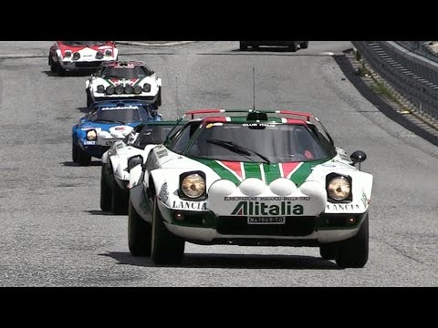This Stratos Meet-Up Looks Like Heaven on Earth for Lancia Fans