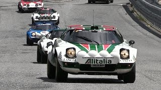 World Stratos Meeting 2016 - 37 Lancia Stratos HF + New Stratos!!