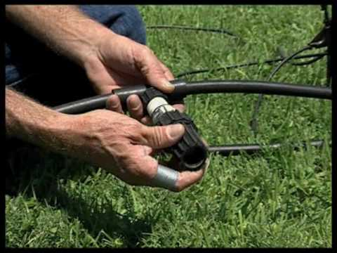 How To Build And Install A Drip Irrigation System Youtube