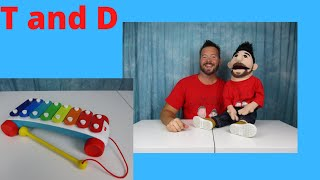 T AND D KIDS' TOYS AND FUN - TOY PLAYDAY - XYLOPHONE