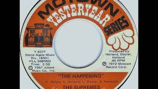 The Supremes - The Happening on 1967 Motown Records.