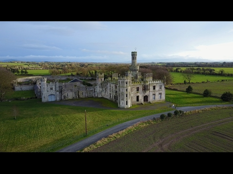 Duckett's Grove House, Carlow Castle, Ireland - 4K - Feb 2017