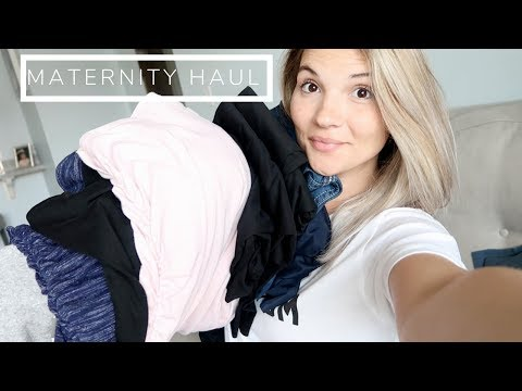 Vlog: HUGE Maternity Haul (ON SALE NOW) + Shopping For Baby Boy!