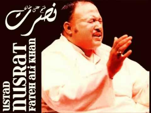 Manam Mehve Khayale Oo - Kalam Bu Ali Qalandar - Nusrat Fateh Ali Khan