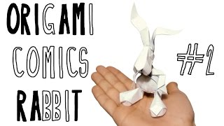 Origami Comics Rabbit (riccardo Foschi) - Part 2: Collapsing The Base
